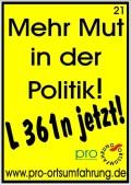 Mehr Mut in der Politik!