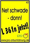 Net schwade – donn!
